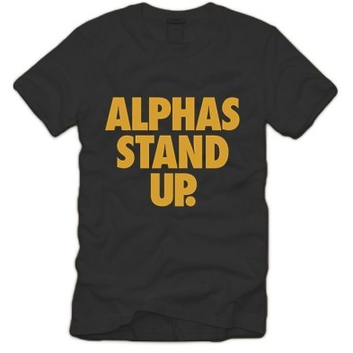 alphas stand up